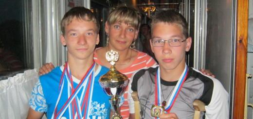 Данил Ярин и Сергей Апляев